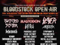 Bloodstock Open Air 2016 July Festival Poster