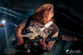 Dividium on stage at UK Tech-Metal Fest 2016 9th July 2016