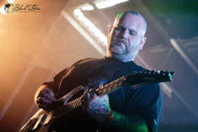 Fit For An Autopsy on stage at UK Tech-Metal Fest 2016 9th July 2016