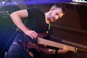 Haken on stage at UK Tech-Metal Fest 2016 10th July 2016
