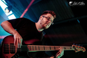 Intervals on stage at UK Tech-Metal Fest 2016 8th July 2016