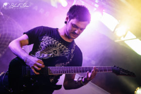 Invocation on stage at UK Tech-Metal Fest 2016 10th July 2016