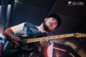 Make Me A Donut on stage at UK Tech-Metal Fest 2016 8th July 2016