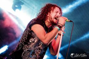 Novena on stage at UK Tech-Metal Fest 2016 8th July 2016