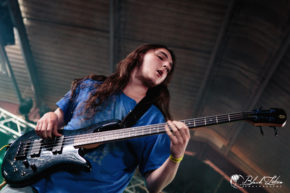Pravitas on stage at UK Tech-Metal Fest 2016 10th July 2016
