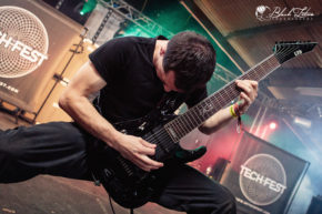 The Five Hundred on stage at UK Tech-Metal Fest 2016 10th July 2016