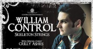 William Control Skeleton Strings UK Tour 2016 Poster