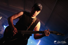Zephyr on stage at UK Tech-Metal Fest 2016 8th July 2016