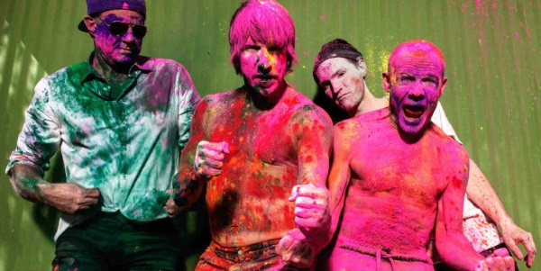 Red Hot Chili Peppers 2016 Band Promo Photo