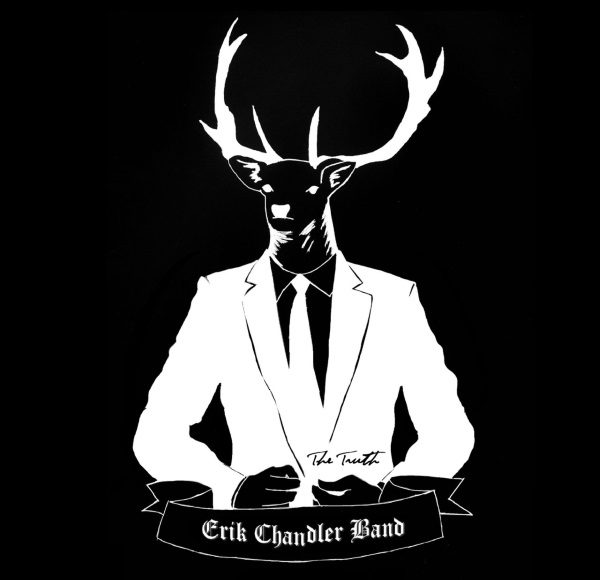 The Erik Chandler Band - The Truth Album Cover