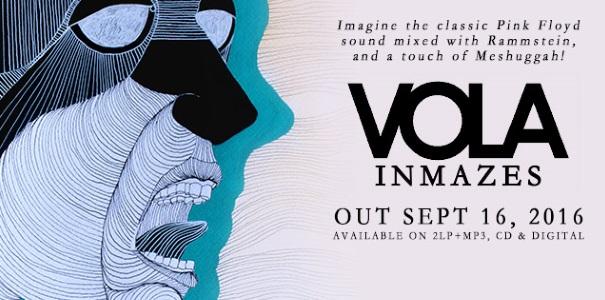 Vola InMazes Album Banner