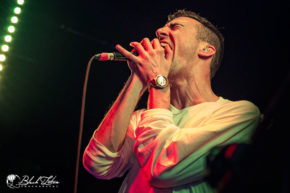 Blood Youth on stage at Boston Music Room London 6th October 2016