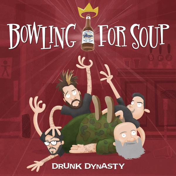 Bowling For Soup Drunk Dynasty Album Cover