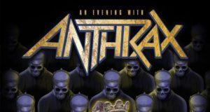Anthrax Among The Living 2017 UK Tour Poster