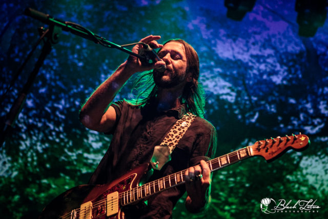 Feeder on stage at The Roundhouse London on 12th October 2016