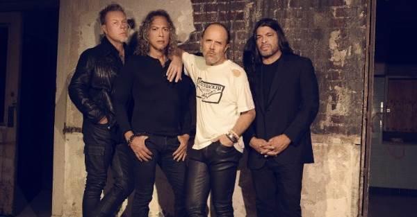 Metallica 2016 Band Promo Photo