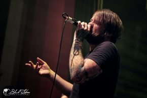 Beartooth on stage at o2 Shepherds Bush Empire London 8th December 2016