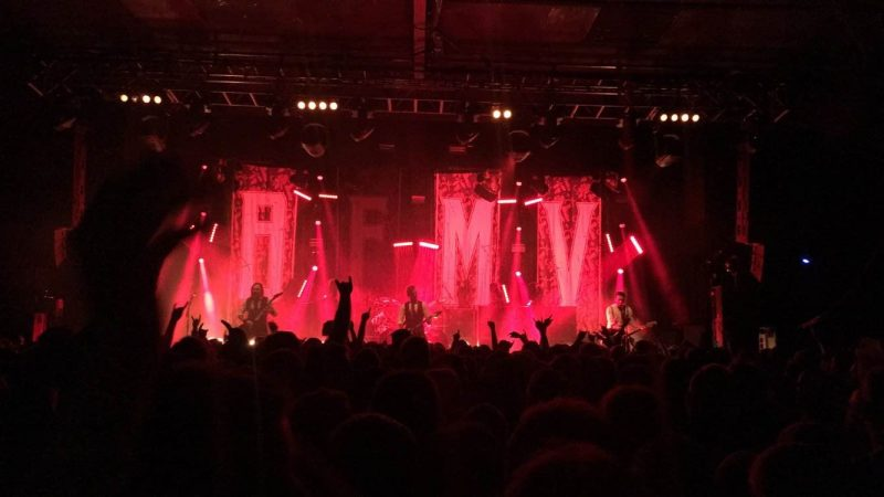 Bullet For My Valentine Manchester December 2016