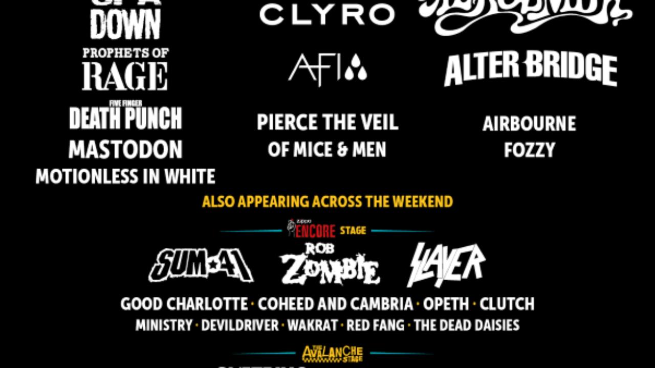 Alter Bridge & Sum 41 Top New Bands At Download Festival 2017