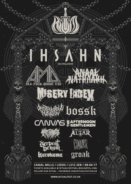 Ritual Festival 2017 Line Up Poster