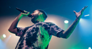 A Day To Remember on stage at Wembley Arena London 27th January 2016