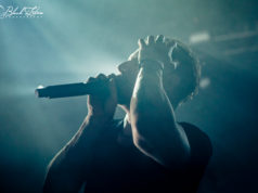 The Dillinger Escape Plan on stage at o2 Forum Kentish Town London 25th January 2017