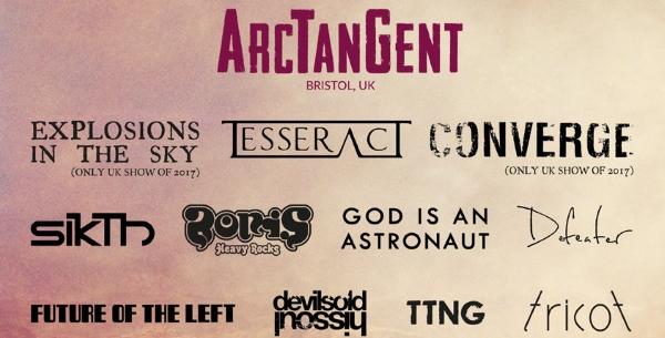 ArcTanGent Festival 2017 Third Poster Header Image