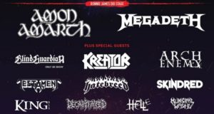 Bloodstock Open Air Festival 2017 March Line Up Poster Header Image