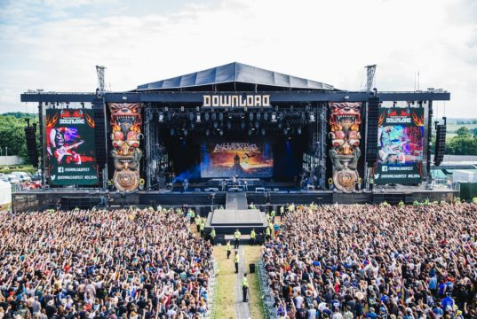 Download Festival 2017 Main Stage Sound Tower Shot