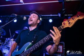 Press To Meco on stage at The Black Heart London 7th March 2017