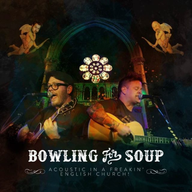 Bowling For Soup Acoustic In A Freakin English Church DVD Artwork Cover