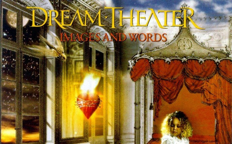 Dream Theater Images and Words Album Cover Header