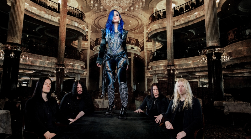 Arch Enemy Band Promo Photo 2017