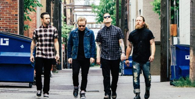 Shinedown 2017 Band Promo Photo