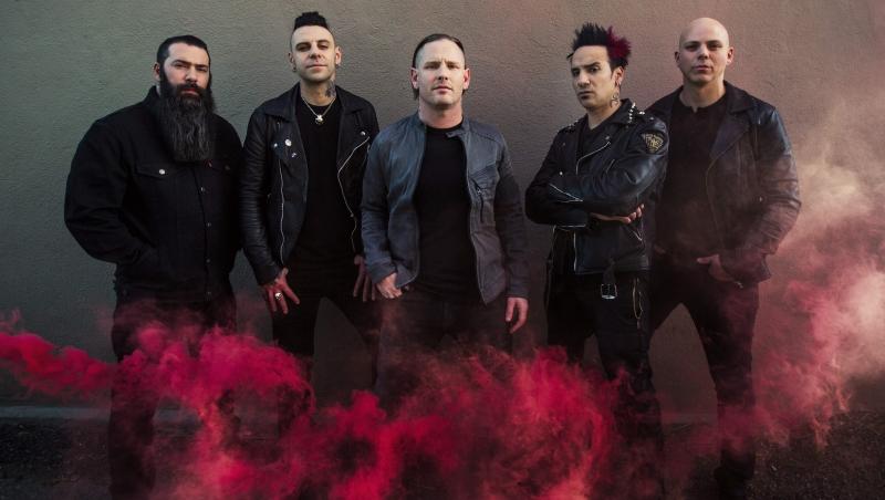 Stone Sour 2017 press shot credit Travis Shinn