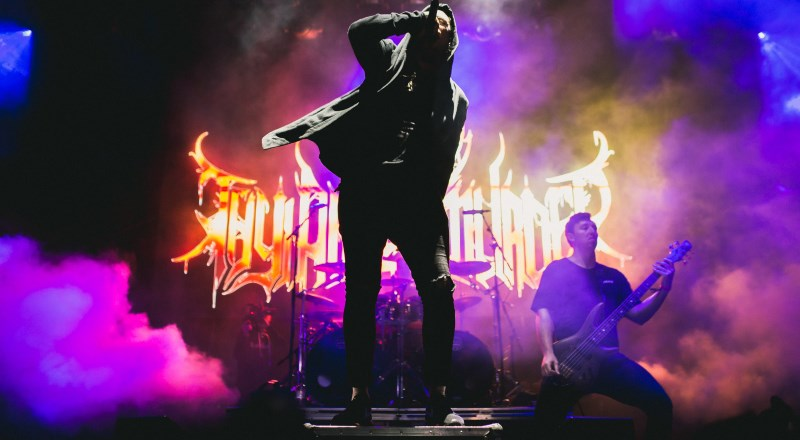 Thy Art Is Murder 2017 Band Promo Photo