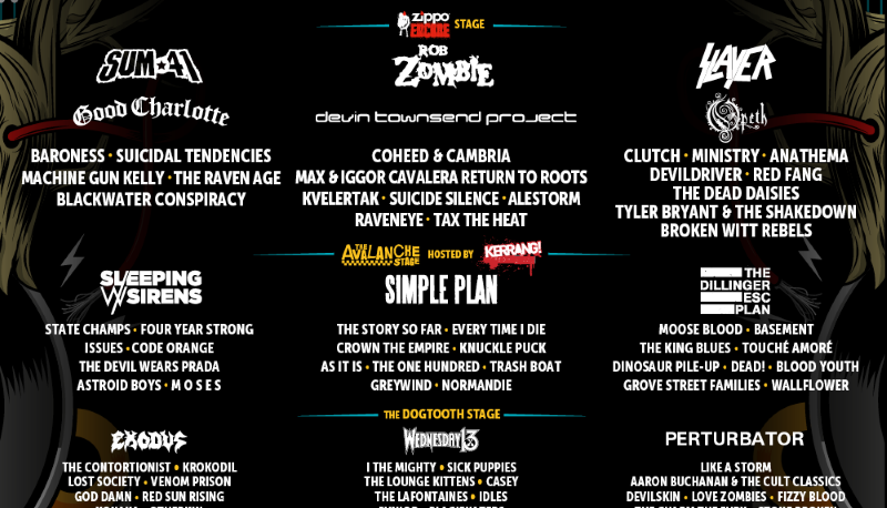 Download Festival 2017 Zippo Encore Stage Day One Review ...