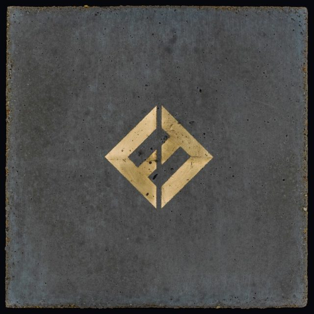Foo Fighters Concrete and Gold Album Artwork Cover