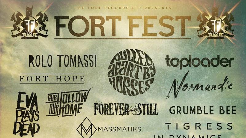 Fortfest 2017 Festival Line Up Poster Header Image