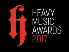 Heavy Music Awards 2017 Banner