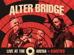 Alter Bridge Live At The O2 Arena + Rarities Album Cover Artwork