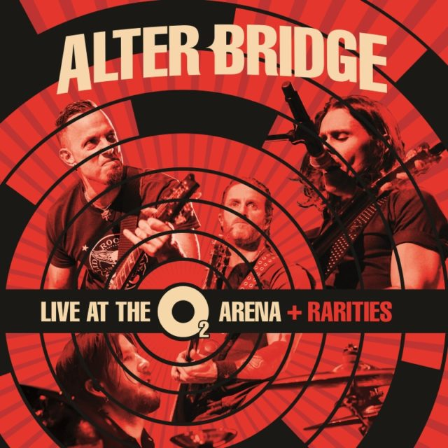 Alter Bridge Live At The O2 Arena + Rarities Album Cover Artwork