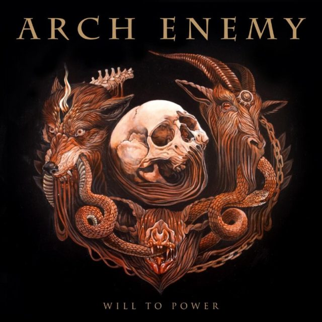 Arch Enemy Will To Power Album Artwork Cover