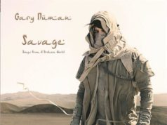 Gary Numan Savage Album Cover