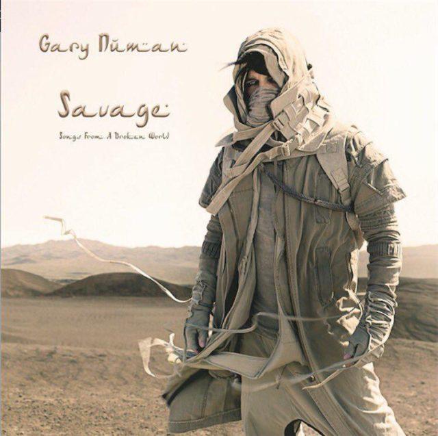 Gary Numan Savage Album Cover