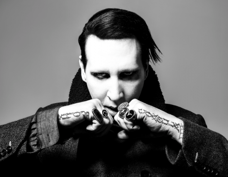 Marilyn Manson Says Columbine Destroyed His Career, Flicks Interviewer's Balls