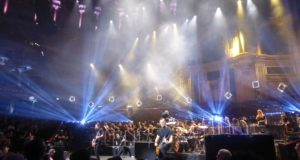 Alter Bridge on stage at The Royal Albert Hall, 3rd October
