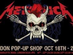 Metallica London Pop-Up Shop Graphic