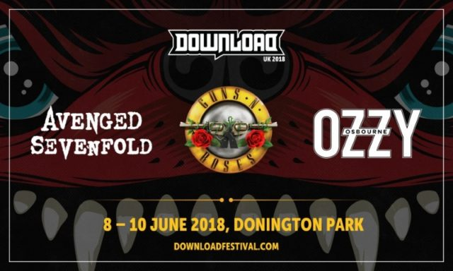 Download Festival 2018 UK First Poster