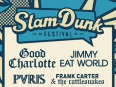 Slam Dunk Festival 2018 Co-Headliners Poster Header